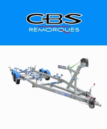 Remorque bateau CBS
